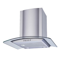 New listing Winflo Range Hood 30 Inch Convertible Stainless Steel Kitchen Glass Wall Mount