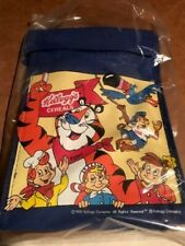 Vintage 1995 Kelloggs Insulated Lunchbag Kids Cereal Characters
