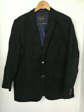 Esprit Mens Size 44R Corduroy Black Jacket