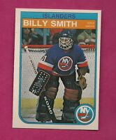 1982-83 OPC # 211  ISLANDERS BILL SMITH GOALIE NRMT-MT CARD (INV#4885)