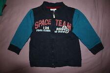 TOPO MINI  TOPOLINO Thermojacke Shirt Hemd Jacke Pullover Gr.92 Baumwolle
