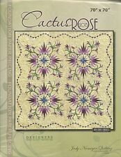 Cactus Rose Foundation Paper Piecing pattern by Judy Niemeyer