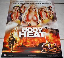 KAYDEN KROSS Riley Steele KATSUNI Jesse Jane RAVEN ALEXIS Rare BODY HEAT Poster!