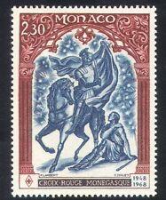 Monaco 1968 Red Cross/Horse/Animals/Health 1v (n22917)