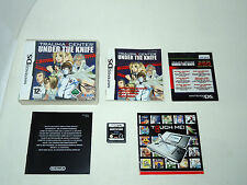 TRAUMA CENTER UNDER THE KNIFE complete in box with manual Nintendo DS videogame