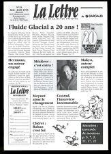 LA LETTRE DARGAUD N ° 23         Mai  /  Juin  1995