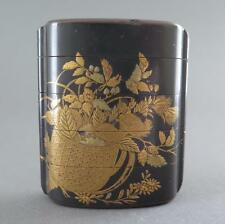 VERY FINE EARLY 19TH CENTURY/EDO JAPANESE LACQUER INRO