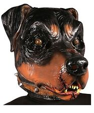 Rottweiler Mask Full Over The Head Latex Dog Animal Character Mask