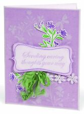 Sizzix Silhoutte Vines Emboss & Stamp set #657772 Retail $19.99 Retired, GREAT!!