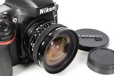 NIKON AI FIT TAMRON ADAPTALL 2 SP 17 mm F/3.5 MF Ultra Wide Angle Lens e berretti