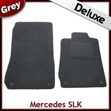 Mercedes SLK R170 1996-2004 A Medida De Lujo 1300g Alfombra Coche Tapetes Gris