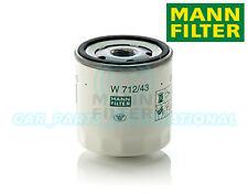Mann Hummel repuesto de calidad OE Filtro de aceite del motor W 712/43