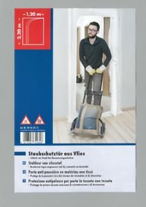 Staubschutztür Staubvorhang Staubschutz Schmutzschleuse Bau Türe - Reißverschluß