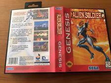 Alien Soldier SEGA Mega Drive USA Version - Custom Game - Grade AAA+++