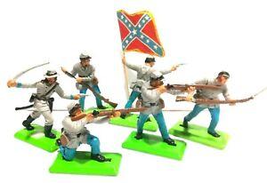 Britains Deetail ACW Soldaten Südstaaten  Komplettsatz