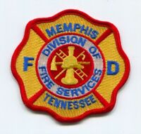 Memphis Fire Department Division of Fire Services Patch Tennessee TN v3