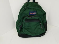 Vintage 90's Jansport backpack green multipocket school