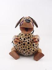 Lustiger Hund Bello Kokosnuss Lampe Tier Deko Geschenk Kinder
