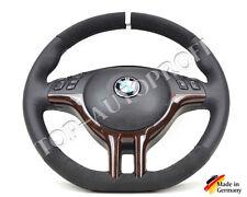 BMW E39 E46 M Sportlenkrad Abgeflacht Lenkrad neu beziehen mit Alcantara 187