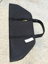"Bow Case 38"" Black 1/2""Thick Foam Adjustable carry Handle becomes shoulder sling"