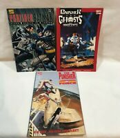 3 Marvel comic Lot PUNISHER  G-Force VS Batman & Ghost of Innocents