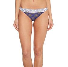 O'Neill Women's Cassia Classic Cheeky Bikini Bottom Blue Size Small