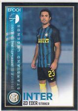 2016/17 Epoch Inter Milan Base Card #9 Eder