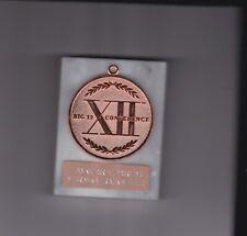 Nebraska Cornhuskers Huskers Track & Field Big XII Conference Medalions