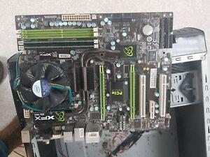 XFX nForce 750i I Mainboard Intel 775 with Core 2 Duo E8400 @3.0GHz CPU + 4GB -