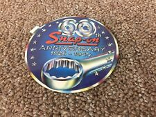 """4"""" SNAP ON TOOLS 60th Anniversary 1920-1980 Vintage Racing Decal Sticker"""