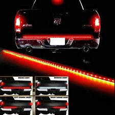 """49"""" Long 5 Functions Full LED Rear Brake Reverse Truck Tailgate Light Strip Bar"""