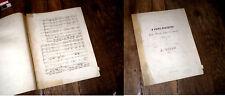 O Fons Pietatis pour basse solo choeur à 4 voix et orgue 1838 Haydn