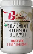 Certified Organic Meeker Red Raspberry Seed Powder  - 1 lb (454g)