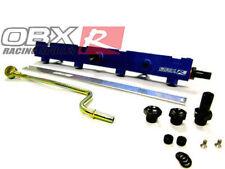 OBX Blue Aluminum Fuel Rail For 2002 2004 2005 2006 Civic Si K20A3 K20Z3 2.0L
