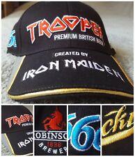 Iron Maiden Trooper Beer Peter Hickman TT Races Isle of Man Baseball Cap NEW