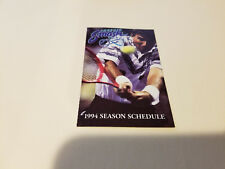 Phoenix Smash 1994 WTT Tennis Pocket Schedule - Dimension Cable Services