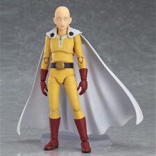 US Stock Figma ONE PUNCH-MAN Saitama Hero PVC Figure 14cm Anime Toy