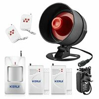 The Newest KERUI Standalone Home Shop Security Alarm Garage Alarm, Shed Alarm