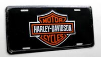 Harley Davidson CLASSIC Emblem Metal Embossed Car Auto License Plate Tag 6 X 12