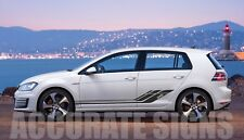 VW GOLF MK6 MK7 GTD GRAPHICS SET STICKERS STRIPES CAR DECALS ANY COLOUR
