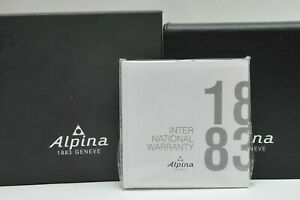 Alpina Outer and Inner Watch Presentation Boxes with New Booklets