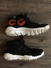 Nike sneakerlab Acg Sneaker FlyKnit Trainers Black White Red Chukka SFB shoes 11