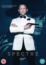 JAMES BOND SPECTRE            BRAND NEW SEALED GENUINE UK DVD
