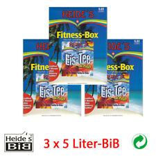 Eistee Pfirsich, 3 x 5 Liter-BiB - 3er-Pack