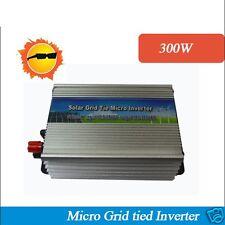 300W On-grid Solar Power Inverter with Pure Sine wave 10.5V~28Vdc 220V grid tie