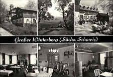 Sächsische Schweiz DDR Postkarte Großer Winterberg VEB Tiefbaukombinat Dresden