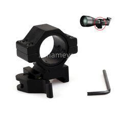 """Quick Release 30mm/25mm 1""""Scope Mount Rings for 20mm Weaver/picatinny Rail Mount"""