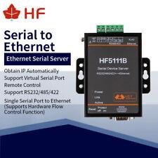 CE HF5111B RJ45 RS232/485/422 To Ethernet  FreeRTOS Serial Port Server Converter