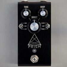 Jackson Audio Prism Buffer Boost Preamp EQ Overdrive Guitar Effects Pedal Black