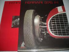 """FERRARI LIBRO BOOK """"FERRARI  375 F1"""" CAVALLERIA N.4 -COME NUOVO -RARISSIMO"""